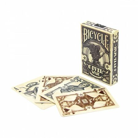 Bicycle Playing Cards Civil War Karten