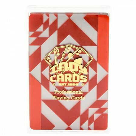Indy Playing Cards Plastic Durchsichtig