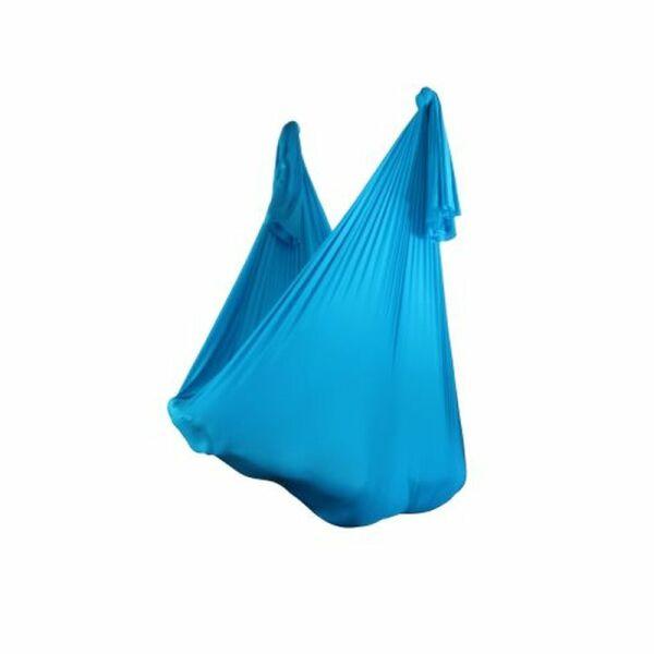 Aerial Yoga Tuch 280 cm x 380 cm Hellblau