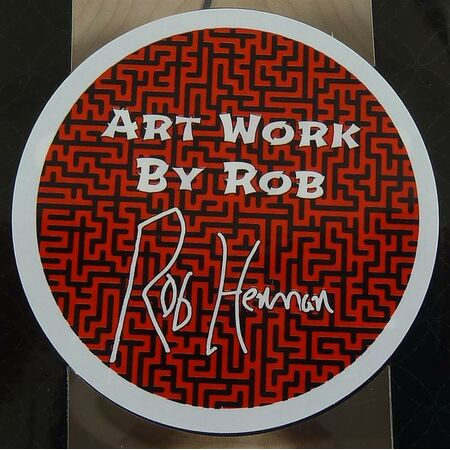Royal Signature Series - Sticky Artwork By Rob Ahorn