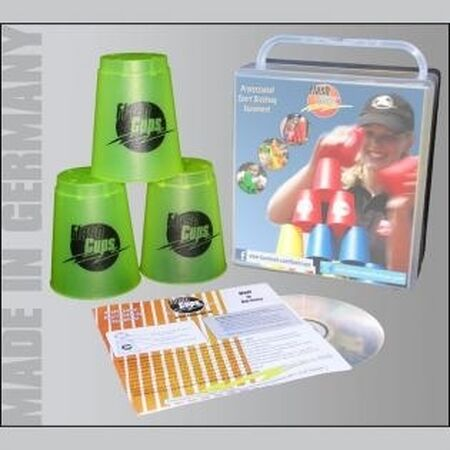 Flash Cups Set incl. DVD